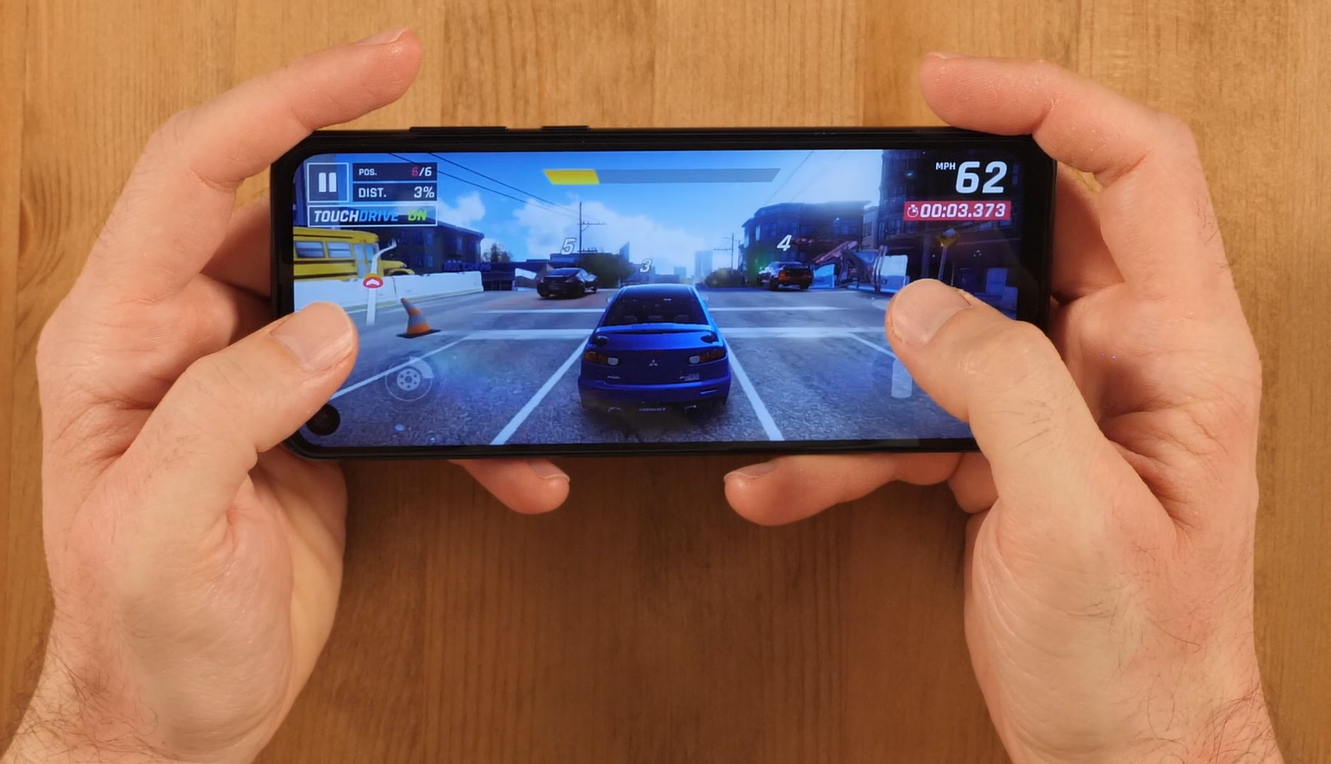 Motorola one Action gaming review