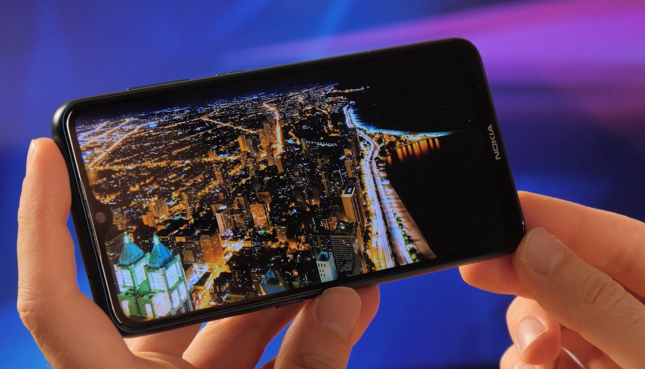 Nokia 7.2. review display