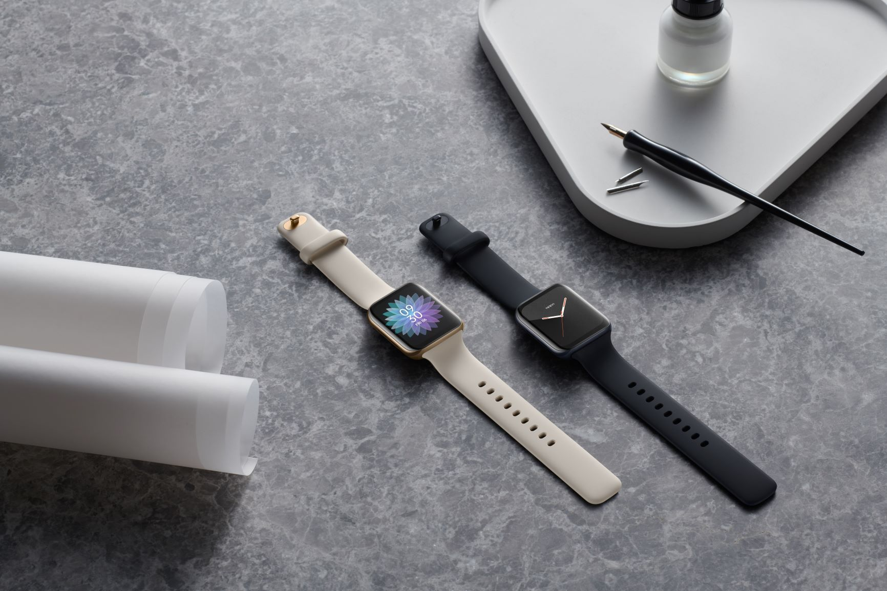 oppo watch, primul smartwatch dual curved
