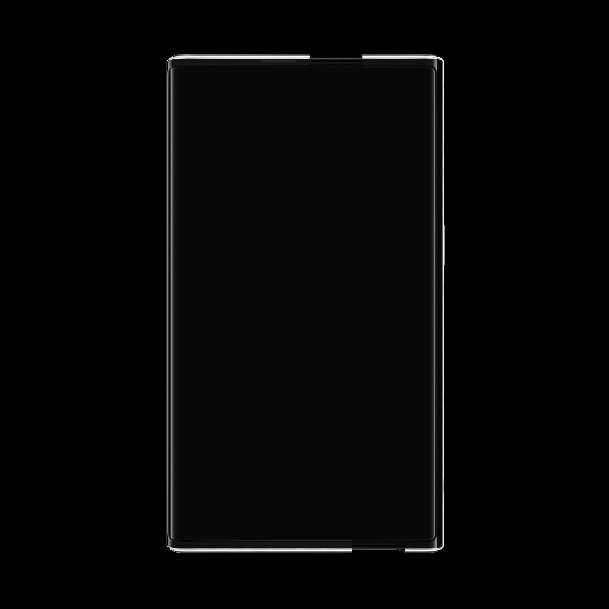 OPPO X 2021 Rollable Concept Handset_Roll out front