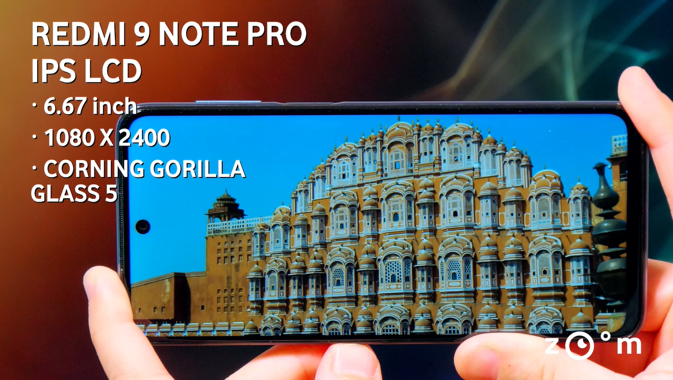 Xiaomi Redmi Note 9 Pro display