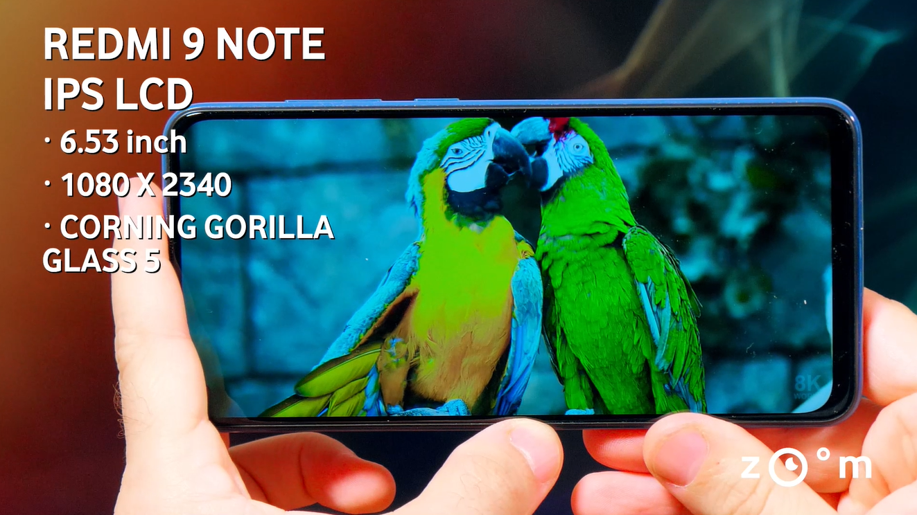 Xiaomi Redmi Note 9 display