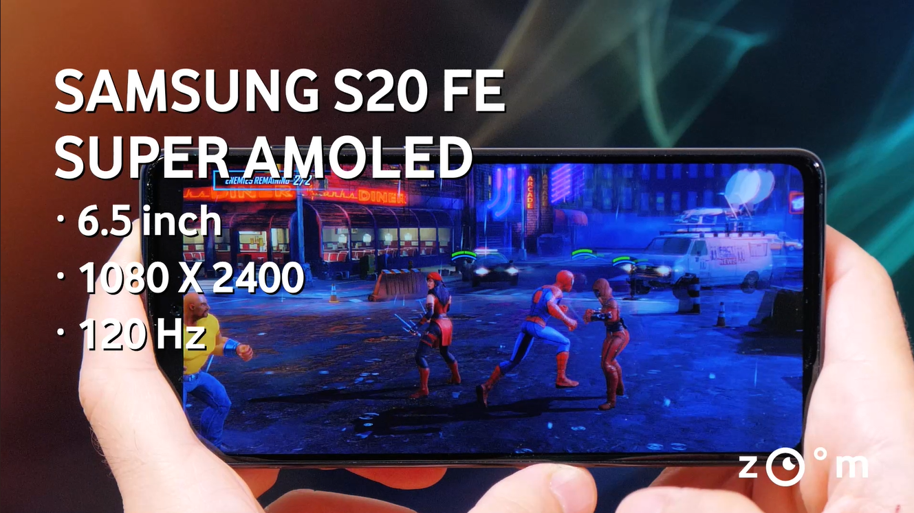 samsung s20 fe review display