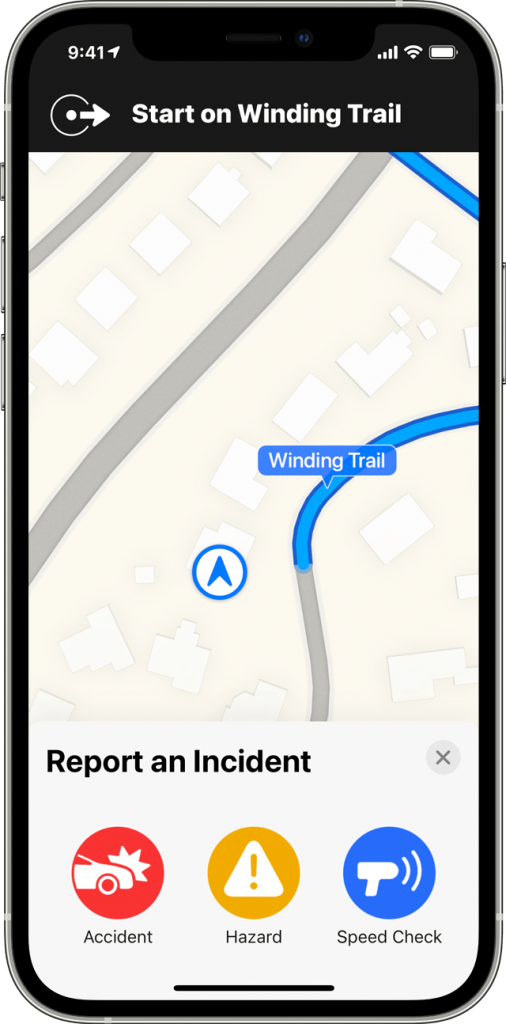 ios14-iphone12-pro-maps-directions-report-an-incident