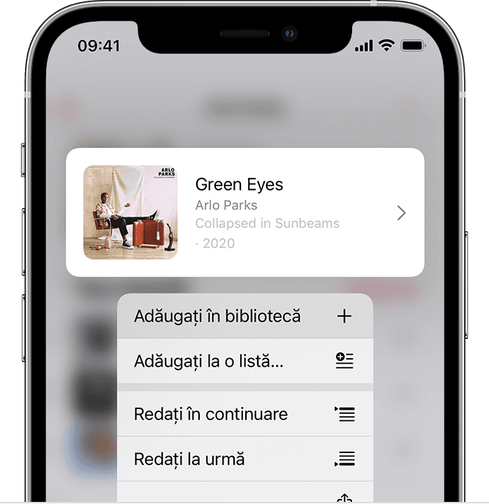ios14-5-iphone-12-pro-music-song-actions-add-to-library-on-tap